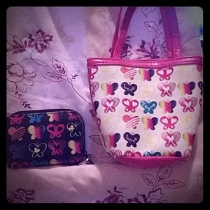 Tote bag and wallet